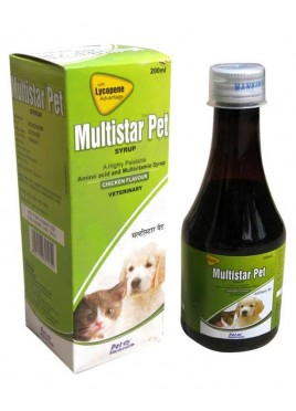 Mankind Multistar pet multivitamin Pet Syrup 200ml