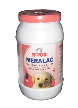 Mera pet Meralac Feed Supplement For Puppy And Kitten 1kg
