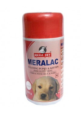 Mera pet Meralac Feed Supplement For Puppy And Kitten 200gm