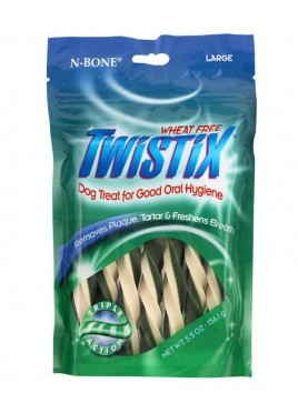 NPIC Twistix Wheat Free Vanilla Mint Small Treats For Dog