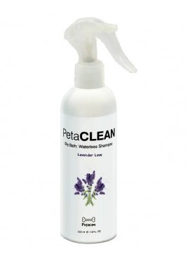 Petacom Lavender Love Dry Bath Waterless Shampoo 225Ml