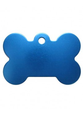 Petscribe Bone ID Tag Light Blue For Dog