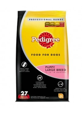 Pedigree Dog Food Puppy Large Breed Professional -3Kg