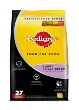 Pedigree Dog Food Puppy Small Breed Professional -1.2kg