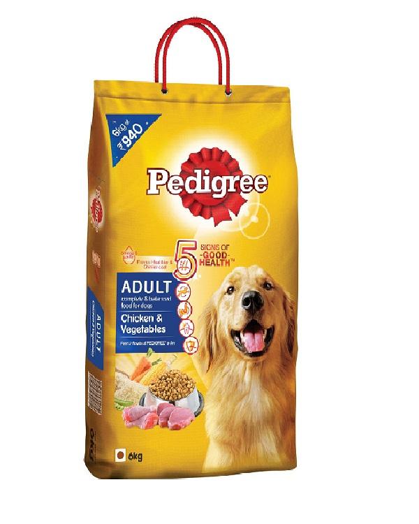 Pedigree Adult Dog Food Chicken And Vegetables 6kg Pedigree Adult