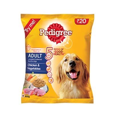 Pedigree Adult Dog Food Chicken & Vegetables (100gm)
