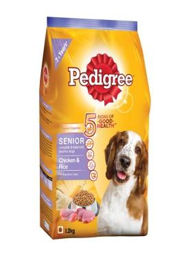 Pedigree Chicken And Rice Senior Dog Food-1.2 Kg