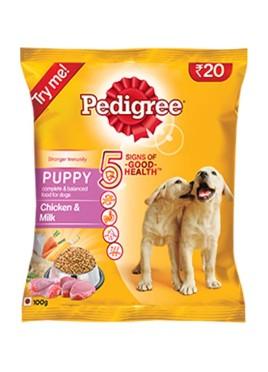 Pedigree Puppy Chicken & Milk (100gm)
