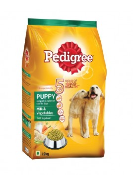 Pedigree Milk And Vegetable Food For Puppy (1.2kg)