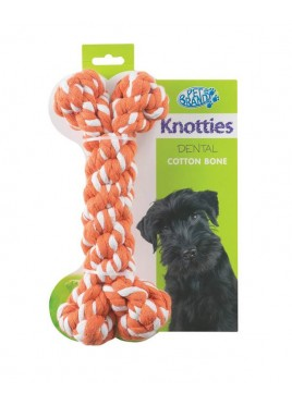 Pet Brands Knotty Bone Large -Red For Dog