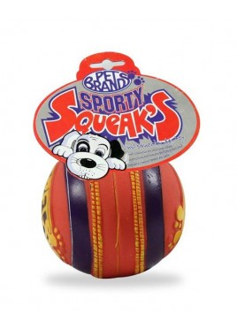 Pet Brands Sporty Squeak - Cricket Ball