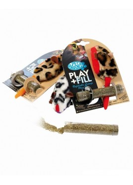 Pet Brands Cat Play and Fill Refillable Cat Toy