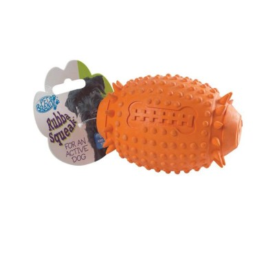 Pet Brands Rugby Ball Rubba Tuff Toy