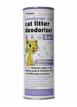 Petkin Cat Litter Deodorizer - Lavender For Cats