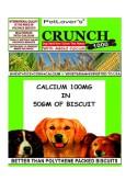 Petlovers Crunch Vegetarian (400gm)