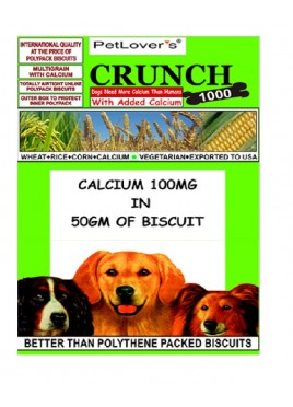 Pet Lovers Crunch Vegetarian (900gm)