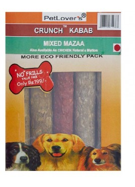 Petlovers Crunch Meat Kabab-1kg
