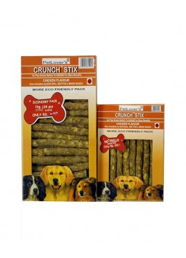Petlovers Crunch Chicken Stix (400gm)