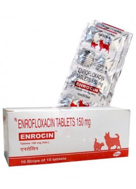 Zoetis Enrocin tablets 150mg (10 teb) for dog and cat