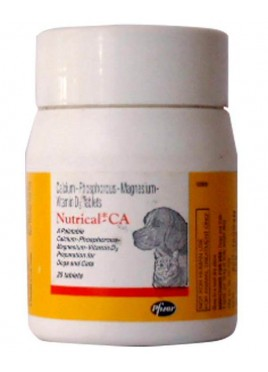 Zoetis Nutrical-CA is calcium tablets for Dogs and Cats
