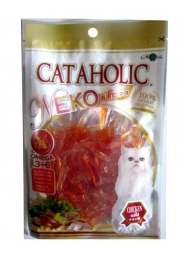 Rena Neko Soft Chicken Jerky Sliced Treat For Cat - 30 gm