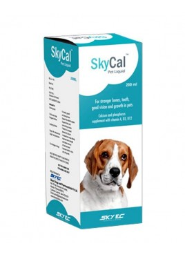 Sky Ec Skycal Pet Multivitamin Syrup 200ml