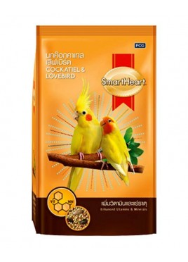 Smartheart Bird Food Cockatiel Lovebird 1kg