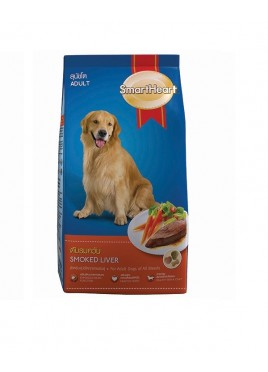 Smartheart Adult Dog Food Smoked And Liver (10 Kg)