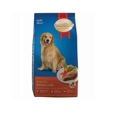 Smartheart Adult Dog Food Smoked And Liver (1.5Kg)