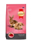 Smartheart Rabbit Food Raspberry Flavour 1kg