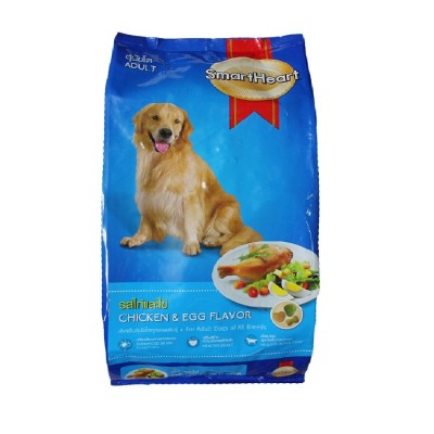 Smartheart Adult Dog Food Chicken And Egg (20Kg)