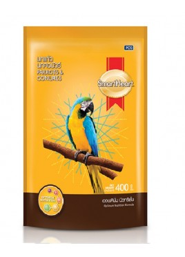 Smartheart Parrot And Conures Bird Food-400 Gm