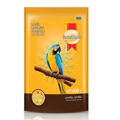 Smartheart Parrot And Conures Bird Food-400 Gm