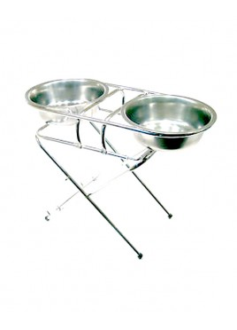 Supper Adjustable Feeding Bowl Stand small