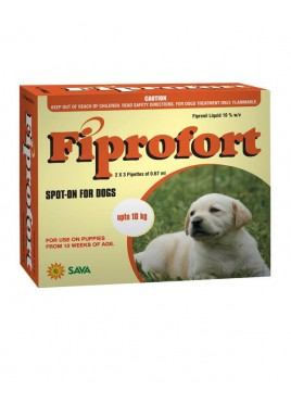 Sava Healthcare Fiprofort for Dogs upto 10 kg body Weight