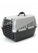 Savic Dog Carrier Light Grey - Medium - LxWxH - 24x16x15 inch