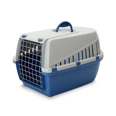 Savic Dog Carrier Trotter1 -Light Blue - X-Small - LxWxH - 19x13x12 inch