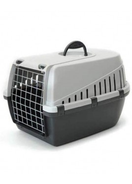 Savic Dog Carrier Trotter1 -Light Grey - X-Small - LxWxH - 19x13x12 inch