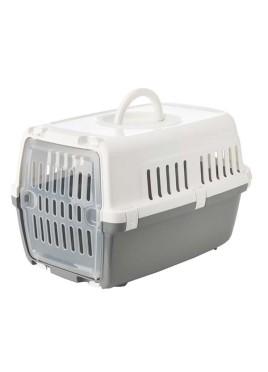 Savic Zephos -1 Pet Carrier (White & Cold Grey)