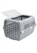 Savic Zephos 2 Open Pet Carrier (Grey)