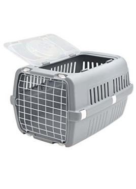 Savic Zephos 2 Open Pet Carrier (Grey)