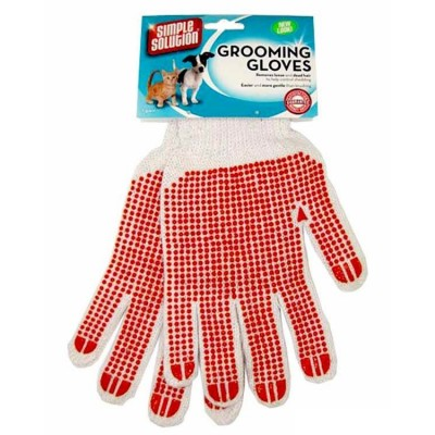 Simple Solution Pets Bath Grooming Gloves