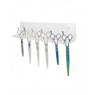 Toex Aeolus Acrylic Scissors Organiser 12 Scissors (SO-301)