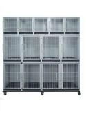 "Toex Modular Cage Bank System (KA-505D2) (87\""W x 26\""D x 81\""H)(2L+4M+5S)"