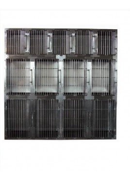 "Toex Professional Stainless Steel Modular Cage Large (KA-509L-48""W X 28""D X 36""H)"