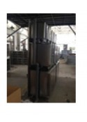 """Toex Stainless Steel Modular Cage with Drain Pipes (KA-509D1,48\""""Wx28\""""Dx75\""""H) (1L + 1L)"""