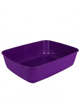 Trixie Cat Litter Tray Purple Size15x6x19