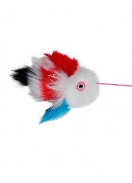 Trixie Cat Toy Fish On An Elastic Plush Band