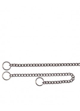 "Trixie Choke Chain, stainless steel size 17""/2.5 mm"