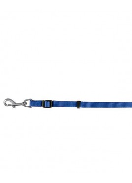 Trixie Classic Lead-Fully Adjustable Size M-L Blue